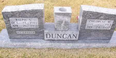 DUNCAN, CHLORENE M. - White County, Arkansas | CHLORENE M. DUNCAN - Arkansas Gravestone Photos