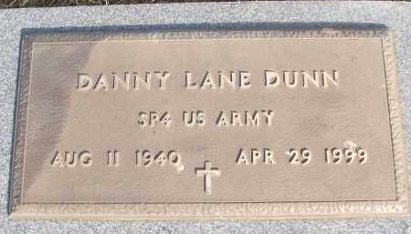 DUNN (VETERAN), DANNY LANE - White County, Arkansas | DANNY LANE DUNN (VETERAN) - Arkansas Gravestone Photos