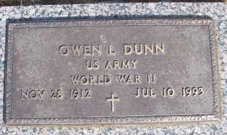 DUNN (VETERAN WWII), OWEN L - White County, Arkansas | OWEN L DUNN (VETERAN WWII) - Arkansas Gravestone Photos