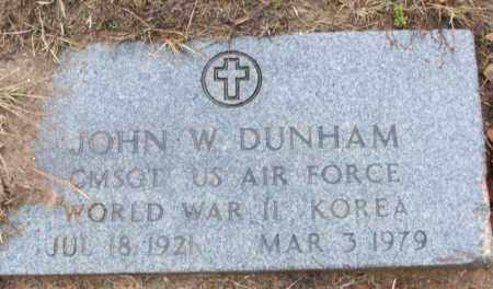 DURHAM (VETERAN 2 WARS), JOHN W - White County, Arkansas | JOHN W DURHAM (VETERAN 2 WARS) - Arkansas Gravestone Photos