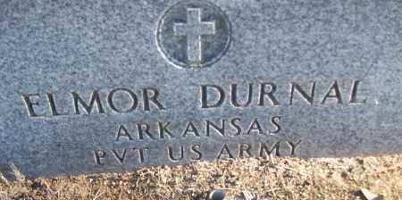 DURNAL (VETERAN), ELMOR - White County, Arkansas | ELMOR DURNAL (VETERAN) - Arkansas Gravestone Photos