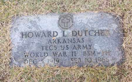 DUTCHER  (VETERAN WWII), HOWARD L - White County, Arkansas | HOWARD L DUTCHER  (VETERAN WWII) - Arkansas Gravestone Photos