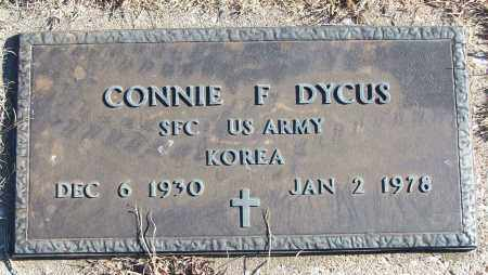 DYCUS (VETERAN KOR), CONNIE F - White County, Arkansas | CONNIE F DYCUS (VETERAN KOR) - Arkansas Gravestone Photos