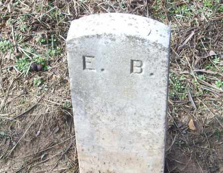 E.B., UNKNOWN - White County, Arkansas | UNKNOWN E.B. - Arkansas Gravestone Photos