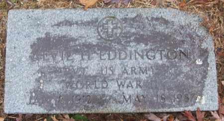 EDDINGTON (VETERAN WWII), ALVIE H - White County, Arkansas | ALVIE H EDDINGTON (VETERAN WWII) - Arkansas Gravestone Photos