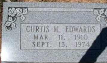 EDWARDS, CURTIS M - White County, Arkansas | CURTIS M EDWARDS - Arkansas Gravestone Photos