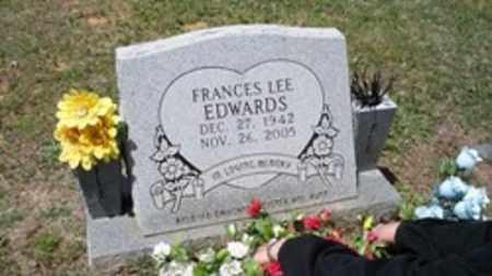 EDWARDS, FRANCES LEE - White County, Arkansas   FRANCES LEE EDWARDS - Arkansas Gravestone Photos