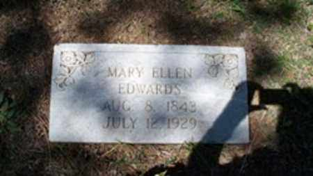 THOMPSON EDWARDS, MARY ELLEN - White County, Arkansas | MARY ELLEN THOMPSON EDWARDS - Arkansas Gravestone Photos
