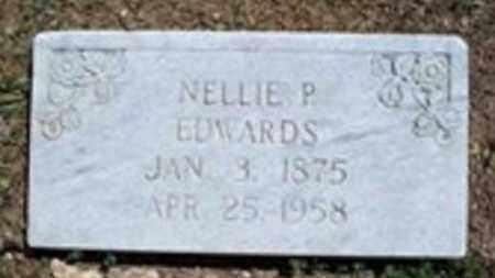EDWARDS, NELLIE P - White County, Arkansas | NELLIE P EDWARDS - Arkansas Gravestone Photos