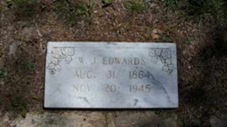 EDWARDS, WILLIAM JEFFERSON - White County, Arkansas | WILLIAM JEFFERSON EDWARDS - Arkansas Gravestone Photos
