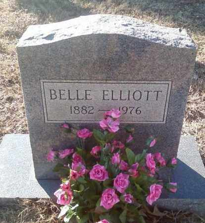 ELLIOTT, BELLE - White County, Arkansas | BELLE ELLIOTT - Arkansas Gravestone Photos