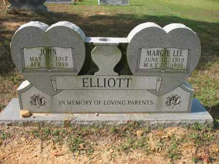 ELLIOTT, MARGIE LEE - White County, Arkansas | MARGIE LEE ELLIOTT - Arkansas Gravestone Photos