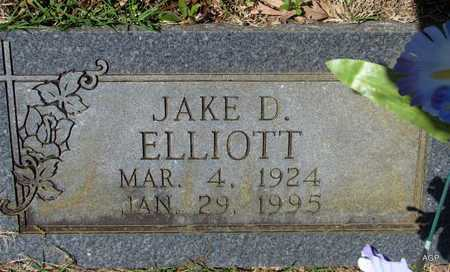 ELLIOTT, JAKE D - White County, Arkansas | JAKE D ELLIOTT - Arkansas Gravestone Photos
