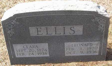 ELLIS, LEONARD - White County, Arkansas | LEONARD ELLIS - Arkansas Gravestone Photos