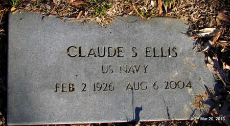 ELLIS (VETERAN), CLAUDE S - White County, Arkansas | CLAUDE S ELLIS (VETERAN) - Arkansas Gravestone Photos