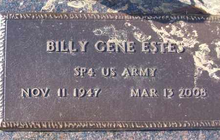 ESTES (VETERAN), BILLY GENE - White County, Arkansas | BILLY GENE ESTES (VETERAN) - Arkansas Gravestone Photos