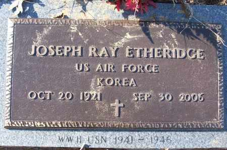 ETHERIDGE (VETERAN KOR), JOSEPH RAY - White County, Arkansas | JOSEPH RAY ETHERIDGE (VETERAN KOR) - Arkansas Gravestone Photos