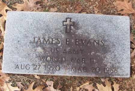 EVANS (VETERAN WWII), JAMES B - White County, Arkansas | JAMES B EVANS (VETERAN WWII) - Arkansas Gravestone Photos