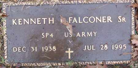 FALCONER, SR (VETERAN), KENNETH - White County, Arkansas | KENNETH FALCONER, SR (VETERAN) - Arkansas Gravestone Photos