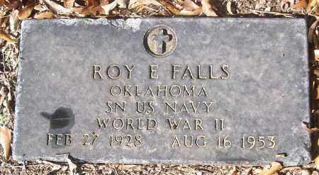 FALLS (VETERAN WWII), ROY E - White County, Arkansas | ROY E FALLS (VETERAN WWII) - Arkansas Gravestone Photos