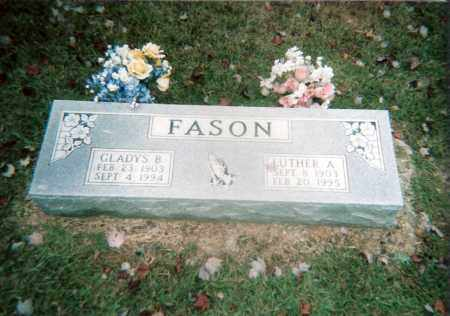 FASON, LUTHER - White County, Arkansas | LUTHER FASON - Arkansas Gravestone Photos
