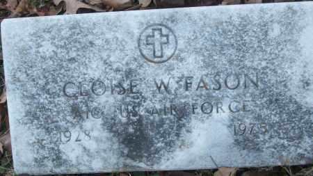FASON (VETERAN), CLOISE W - White County, Arkansas | CLOISE W FASON (VETERAN) - Arkansas Gravestone Photos