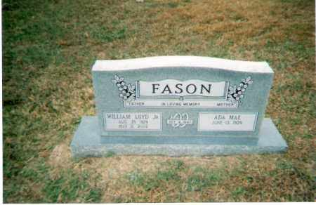 FASON, WILLIAM LOYD JR. - White County, Arkansas | WILLIAM LOYD JR. FASON - Arkansas Gravestone Photos