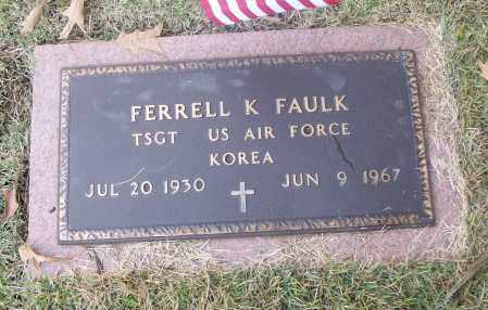 FAULK  (VETERAN KOR), FERRELL K - White County, Arkansas | FERRELL K FAULK  (VETERAN KOR) - Arkansas Gravestone Photos