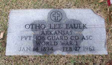 FAULK  (VETERAN WWI), OTHO LEE - White County, Arkansas | OTHO LEE FAULK  (VETERAN WWI) - Arkansas Gravestone Photos