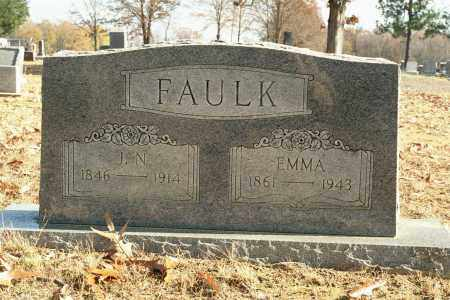 FAULK, JONATHAN N. - White County, Arkansas | JONATHAN N. FAULK - Arkansas Gravestone Photos