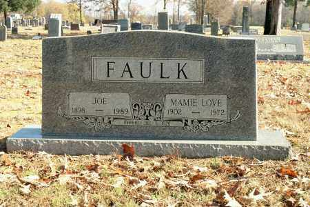 FAULK, MAMIE LOVE - White County, Arkansas | MAMIE LOVE FAULK - Arkansas Gravestone Photos