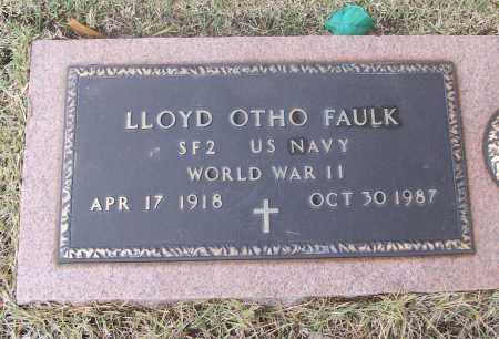 FAULK, LLOYD OTHO - White County, Arkansas | LLOYD OTHO FAULK - Arkansas Gravestone Photos