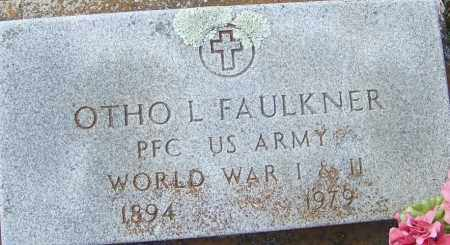 FAULKNER (VETERAN 2 WARS), OTHO L - White County, Arkansas | OTHO L FAULKNER (VETERAN 2 WARS) - Arkansas Gravestone Photos