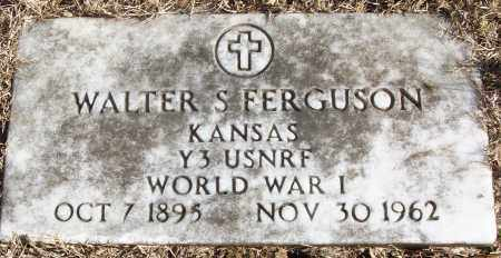 FERGUSON (VETERAN WWI), WALTER S - White County, Arkansas | WALTER S FERGUSON (VETERAN WWI) - Arkansas Gravestone Photos