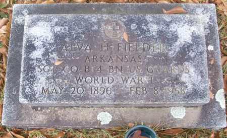 FIELDER  (VETERAN WWI), ALVA H. - White County, Arkansas | ALVA H. FIELDER  (VETERAN WWI) - Arkansas Gravestone Photos