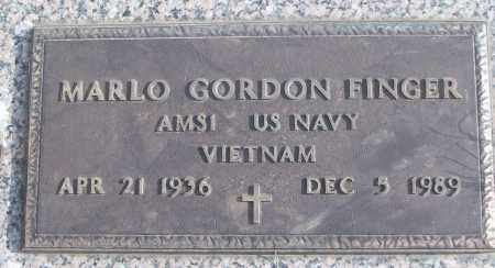 FINGER (VETERAN VIET), MARLO GORDON - White County, Arkansas | MARLO GORDON FINGER (VETERAN VIET) - Arkansas Gravestone Photos