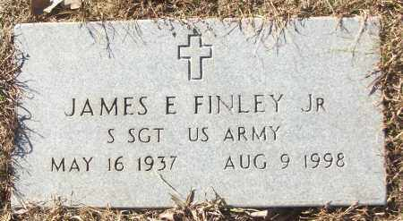 FINLEY, JR (VETERAN), JAMES E - White County, Arkansas | JAMES E FINLEY, JR (VETERAN) - Arkansas Gravestone Photos