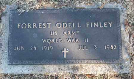 FINLEY (VETERAN WWII), FORREST ODELL - White County, Arkansas | FORREST ODELL FINLEY (VETERAN WWII) - Arkansas Gravestone Photos