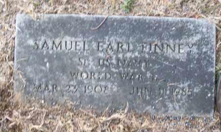 FINNEY (VETERAN WWII), SAMUEL EARL - White County, Arkansas | SAMUEL EARL FINNEY (VETERAN WWII) - Arkansas Gravestone Photos