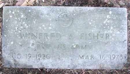 FISHER (VETERAN), WINFRED A - White County, Arkansas | WINFRED A FISHER (VETERAN) - Arkansas Gravestone Photos