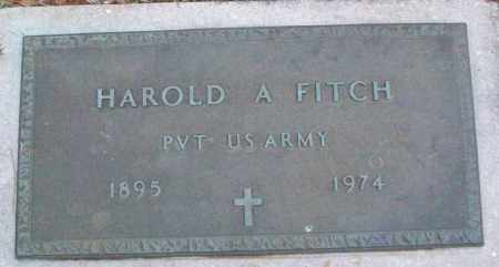 FITCH (VETERAN), HAROLD A - White County, Arkansas | HAROLD A FITCH (VETERAN) - Arkansas Gravestone Photos