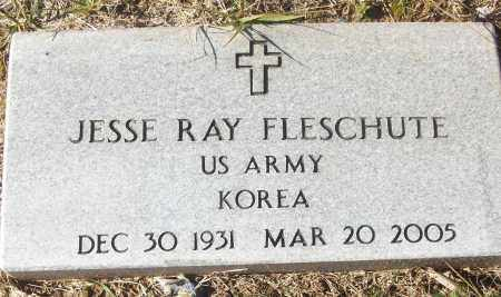 FLESCHUTE (VETERAN KOR), JESSE RAY - White County, Arkansas | JESSE RAY FLESCHUTE (VETERAN KOR) - Arkansas Gravestone Photos