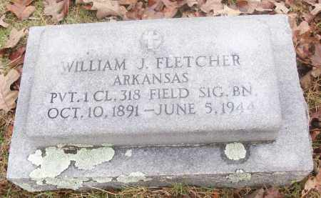 FLETCHER  (VETERAN), WILLIAM J - White County, Arkansas | WILLIAM J FLETCHER  (VETERAN) - Arkansas Gravestone Photos