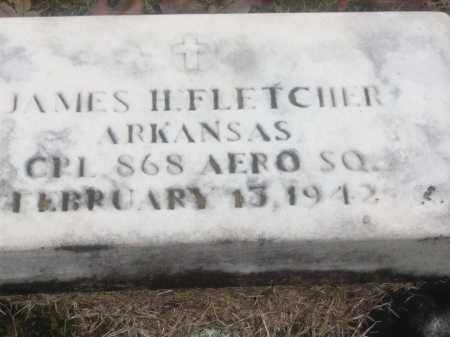 FLETCHER  (VETERAN), JAMES H - White County, Arkansas | JAMES H FLETCHER  (VETERAN) - Arkansas Gravestone Photos