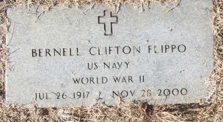 FLIPPO (VETERAN WWII), BERNELL CLIFTON - White County, Arkansas | BERNELL CLIFTON FLIPPO (VETERAN WWII) - Arkansas Gravestone Photos