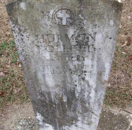 POLLETT (VETERAN), HURMON - White County, Arkansas | HURMON POLLETT (VETERAN) - Arkansas Gravestone Photos