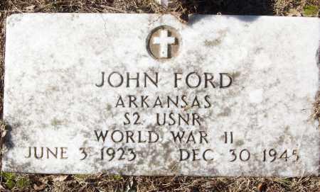 FORD (VETERAN WWII), JOHN - White County, Arkansas | JOHN FORD (VETERAN WWII) - Arkansas Gravestone Photos