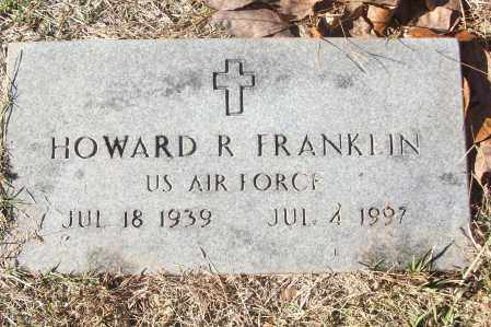 FRANKLIN (VETERAN), HOWARD R - White County, Arkansas | HOWARD R FRANKLIN (VETERAN) - Arkansas Gravestone Photos