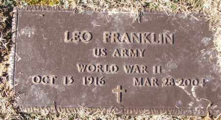 FRANKLIN (WWII), LEO - White County, Arkansas | LEO FRANKLIN (WWII) - Arkansas Gravestone Photos