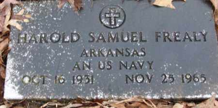 FREALY (VETERAN), HAROLD SAMUEL - White County, Arkansas | HAROLD SAMUEL FREALY (VETERAN) - Arkansas Gravestone Photos
